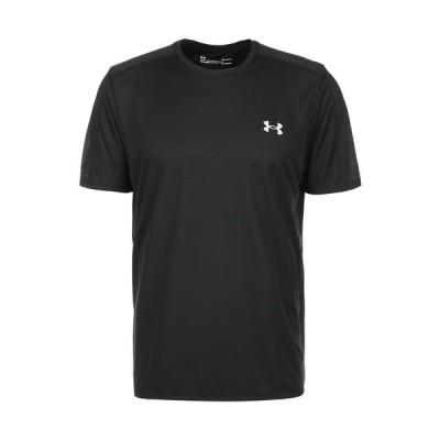 アンダーアーマー シャツ メンズ トップス Print T-shirt - black
