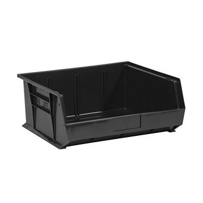 "14 3/4 x 16 1/2 x 7"" Black Plastic Stack & Hang Bin Boxes<並行輸入品>"