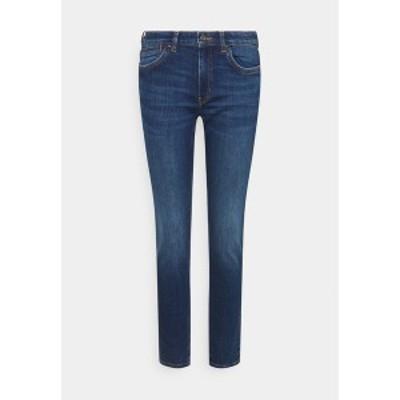 イー ディ シー バイ エスプリ レディース デニムパンツ ボトムス Slim fit jeans - blue dark wash blue dark wash