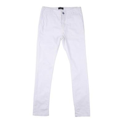 ASTON MARTIN パンツ ホワイト 16 コットン 97% / ポリウレタン 3% パンツ