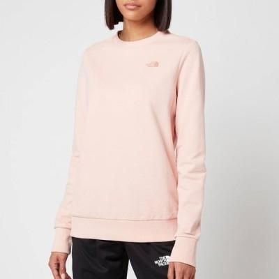 ザ ノースフェイス The North Face レディース スウェット・トレーナー トップス P.U.D Logo Crew Neck Sweatshirt - Evening Sand Pink Pink