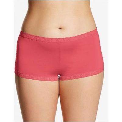 メイデンフォーム Maidenform レディース ショーツのみ インナー・下着 Microfiber Boyshort Underwear 40760 Pink