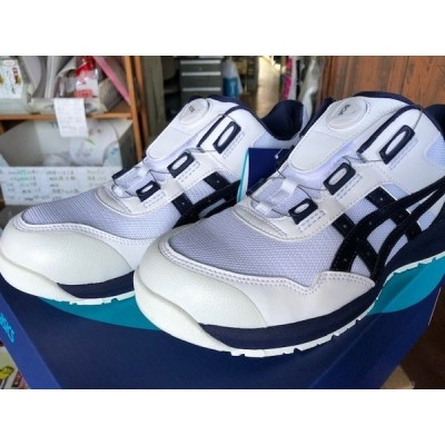 アシックス安全靴ボア CP209-BOA白   27.5cm