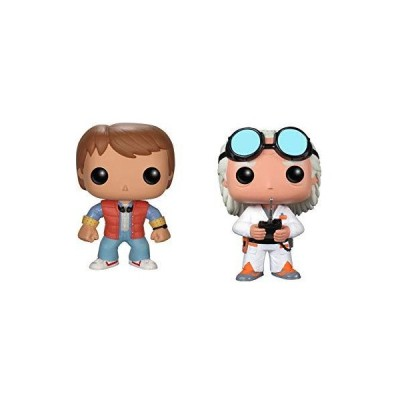 Funko Back to the Future Pop Movie Vinyl Collectors Set: Doc Emmet Brown & Marty McFly