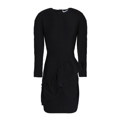 SANDRO ミニワンピース&ドレス ブラック 2 レーヨン 90% / ナイロン 10% ミニワンピース&ドレス