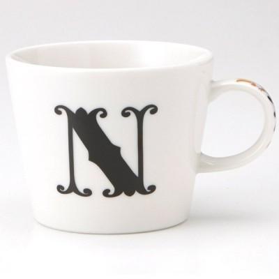 小倉陶器 アルファベット マグカップ N