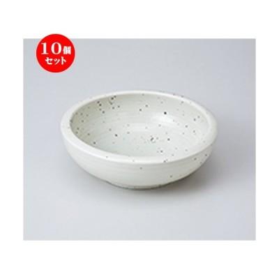 10個セット多用鉢 ゆず肌クリーム括り手5.5深鉢 [ 17 x 5.8cm ] 【 料亭 旅館 和食器 飲食店 業務用 】