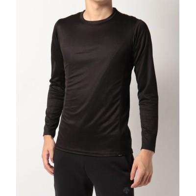 (Marmot/マーモット)クライムスキンプラス長袖Tシャツ(アンダーウェア)/Climb Skin+ L/S Tee/メンズ ブラック