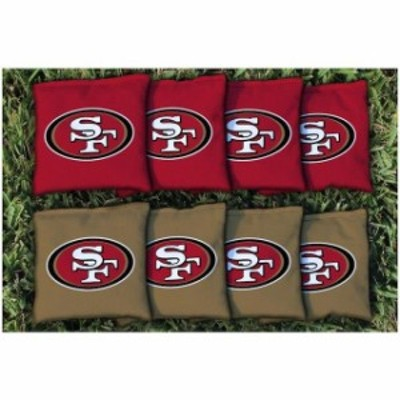 Victory Tailgate ビクトリー テイルゲート スポーツ用品  San Francisco 49ers Replacement Corn-Filled Cornhole Bag Set