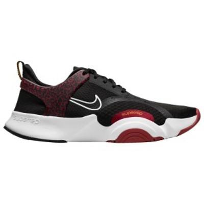 ナイキ メンズ スニーカー シューズ Nike Superrep Go 2 Black/White/Dark Cayenne