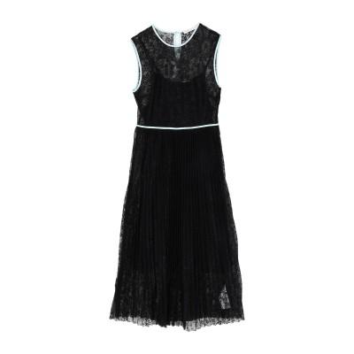 MAJE 7分丈ワンピース・ドレス ブラック 1 ポリエステル 100% 7分丈ワンピース・ドレス