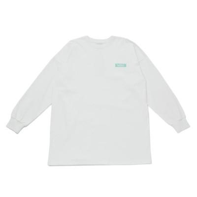 【VANS】 ヴァンズ W VANS LOGO PATCH L/S TEE ロングスリーブ 121R3120100 WHITE F ホワイト