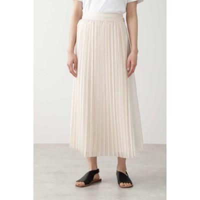 ◆オーガンジープリーツスカート