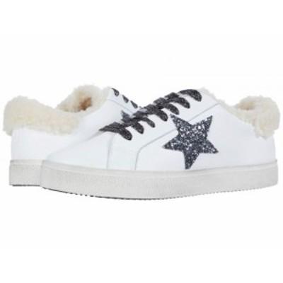 Steve Madden スティーブマデン レディース 女性用 シューズ 靴 スニーカー 運動靴 Polarize Sneaker White/Natural【送料無料】