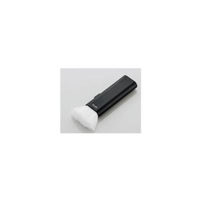 エレコム/クリーニングブラシ コンパクト収納タイプ ネイビー/KBR-014NV