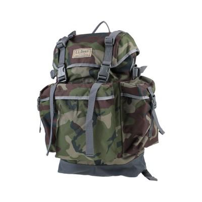 L.L.BEAN® バックパック&ヒップバッグ ミリタリーグリーン 紡績繊維 バックパック&ヒップバッグ