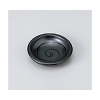 小皿 和食器 / 天目渦豆皿 寸法:7.5 x 1.8cm