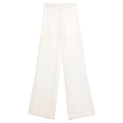 テーラ TELA パンツ ホワイト 38 キュプラ 76% / ナイロン 24% / ポリエステル パンツ