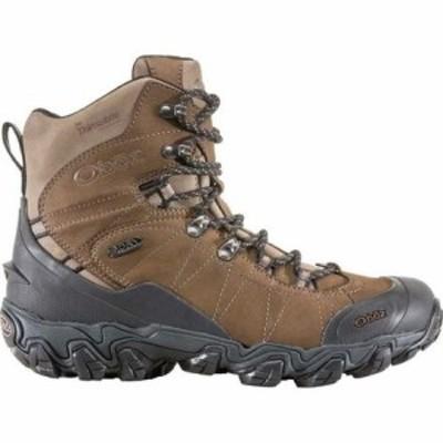 オボズ ウインターシューズ Bridger 8in Insulated B-Dry Boot - Mens