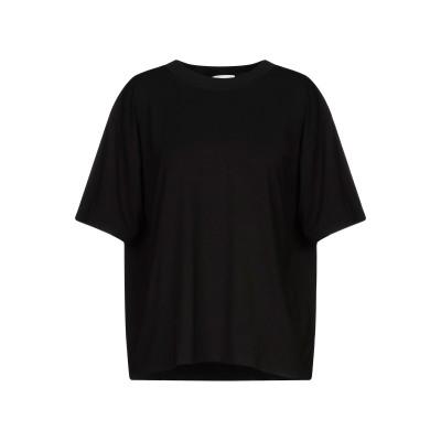 UCWHY T シャツ ブラック 38 レーヨン 95% / ポリウレタン 5% T シャツ