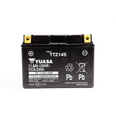 タイワンユアサ バッテリー 12V 制御弁式 TTZ14S