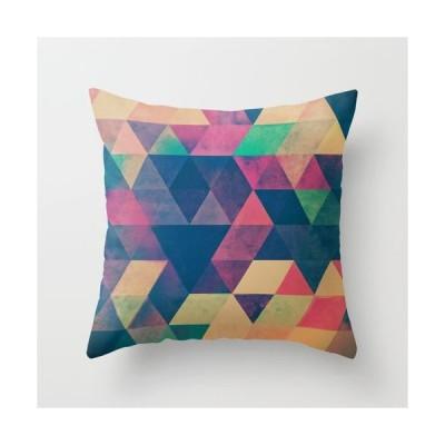 ソサエティシックス Society6 ブランド クッション 正方形 デザイナー おしゃれ - S:約40cm × 約40cm 40×40