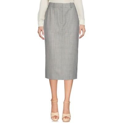 CALVIN KLEIN 205W39NYC 7分丈スカート ブラック 40 100% ウール 7分丈スカート