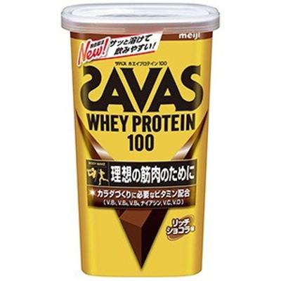 【明治 ザバス ホエイプロテイン100 リッチショコラ味 14食分 】