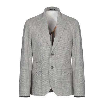OFFICINA 36 テーラードジャケット ブラック 48 ポリエステル 65% / コットン 35% テーラードジャケット