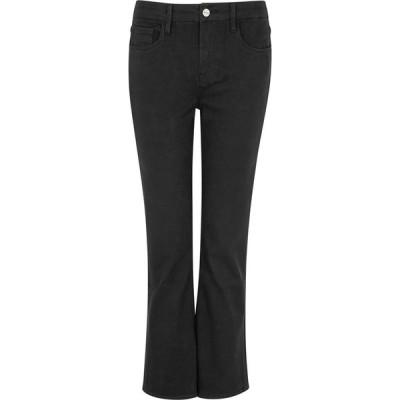 フレーム Frame レディース ジーンズ・デニム ボトムス・パンツ Le Crop Mini Boot Black Jeans Black