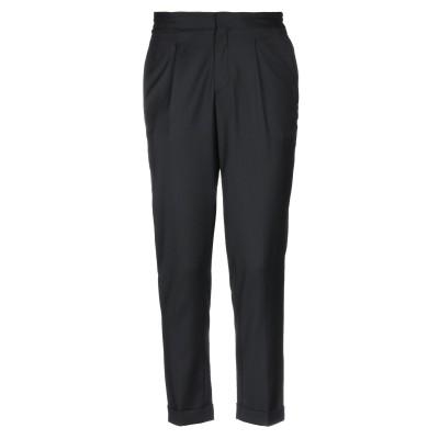 SELECTED HOMME パンツ ブラック L ポリエステル 60% / ウール 25% / レーヨン 12% / ポリウレタン 3% パンツ