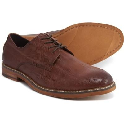 ケネス コール Kenneth Cole メンズ 革靴・ビジネスシューズ レースアップ シューズ・靴 Dance Lace-Up Oxford Shoes - Leather Cognac