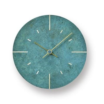 【受注確定後2〜4週間でお届け致します】掛け時計 Orb / 斑紋ガス青銅色 レムノス 壁掛け時計