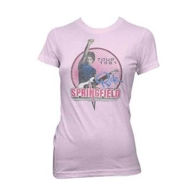 Tシャツ リックスプリングフィールド Rick Springfield Tour 81 Licensed Junior T Shirt