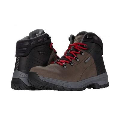 """Georgia Boot ジョージアブーツ メンズ 男性用 シューズ 靴 ブーツ ハイキング トレッキング Eagle Trail 5"""" Waterproof Hiker Soft - Grey/Black"""