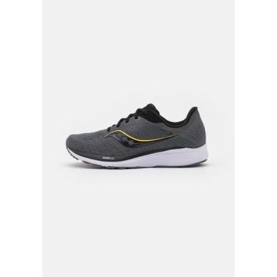 サッカニー シューズ メンズ ランニング GUIDE 14 - Neutral running shoes - black/vizi gold