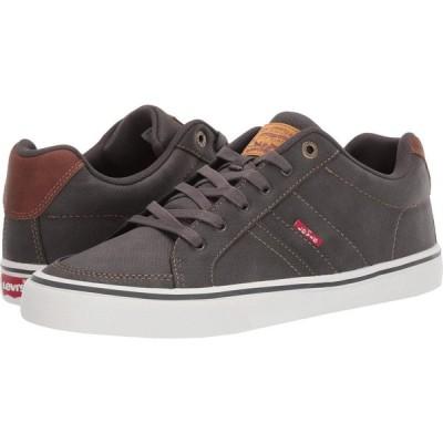 リーバイス Levi's Shoes メンズ スニーカー シューズ・靴 Turner Tumbled Wax Charcoal/Tan