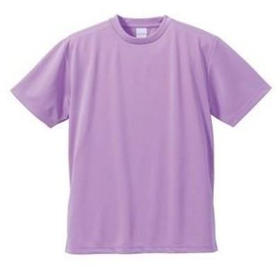 ds-1663920 UVカット・吸汗速乾・5枚セット・4.1オンスさらさらドライ Tシャツ ラベンダー 150cm (ds1663920)
