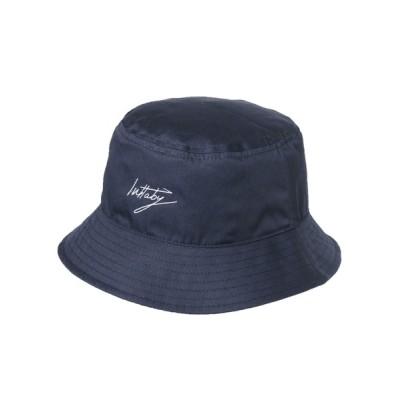 14+(ICHIYON PLUS) / フロント刺繍バケットハット WOMEN 帽子 > ハット