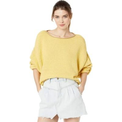 フリーピープル Free People レディース ニット・セーター トップス Bardot Sweater Light Yellow