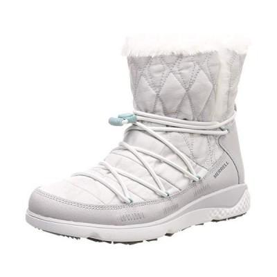 メレル ブーツ 1シックス8ファーチルミッドポーラーエーシープラス レディース White 24 cm 2E