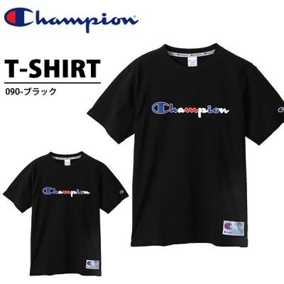 半袖 Tシャツ チャンピオン Champion メンズ T-SHIRT ロゴ ブラック 黒 2020夏新作 C3-R305