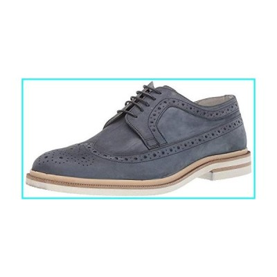 Kenneth Cole New York Men's Vertical Lace Up Oxford, Denim, 11 M US