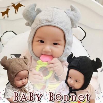 帽子 ベビー 鹿 つの トナカイ 可愛い ハロウィン プレゼント 出産祝い 赤ちゃん メール便 対応 khb-122