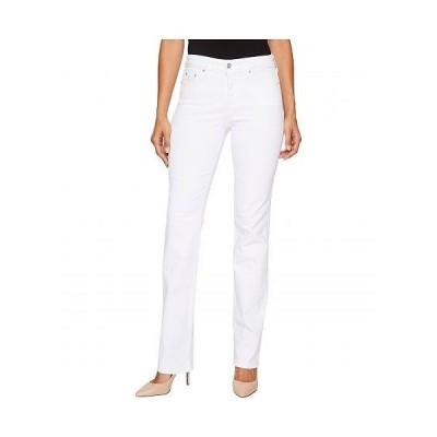 NYDJ エヌワイディージェー レディース 女性用 ファッション ジーンズ デニム Marilyn Straight in Optic White - Optic White