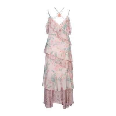 SWEET SECRETS ロングワンピース&ドレス ピンク 42 ポリエステル 100% ロングワンピース&ドレス