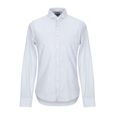 NORTH POLE シャツ ホワイト L コットン 100% シャツ