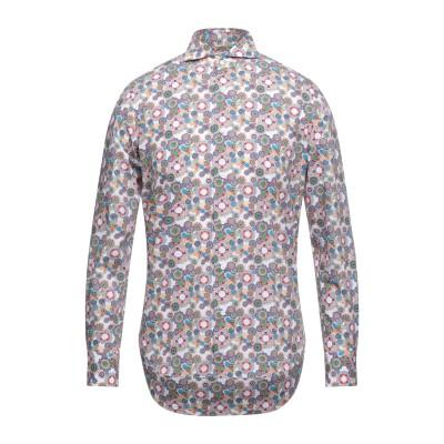 CÀRREL シャツ ホワイト 38 コットン 100% シャツ
