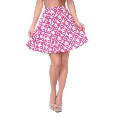 ホワイトマーク スカート ボトムス レディース Women's Heidi Skirt Pink