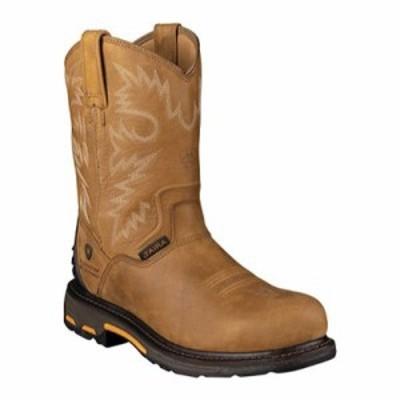 アリアト レインシューズ・長靴 Workhog RT H20 Composite Toe Rugged Bark Full Grain Leather